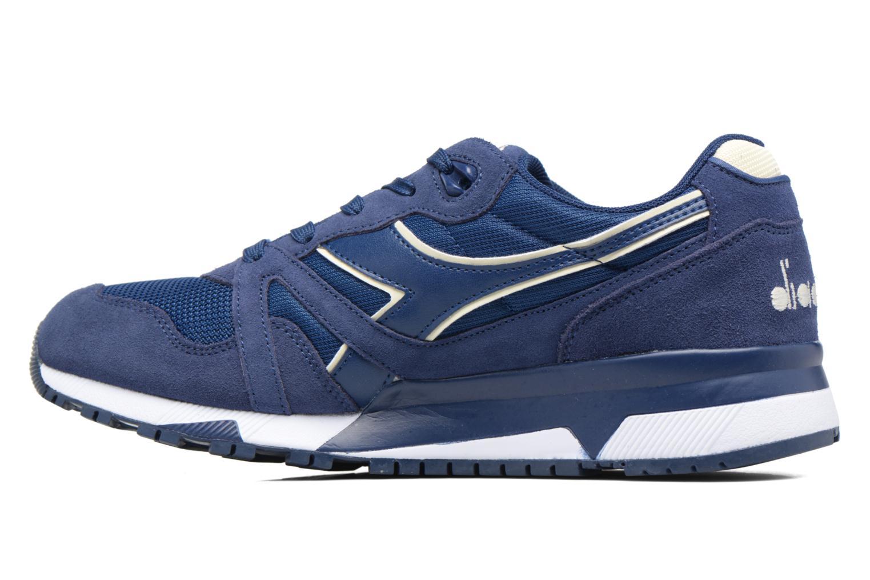 Sneaker Diadora N9000 III blau ansicht von vorne