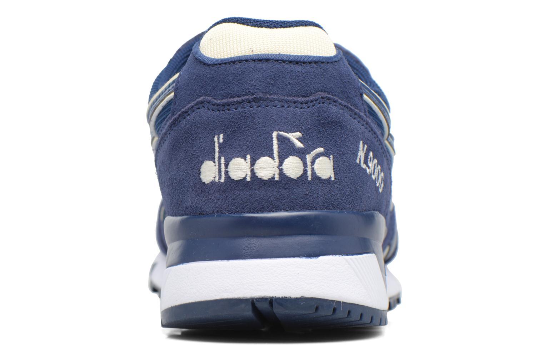 Sneaker Diadora N9000 III blau ansicht von rechts