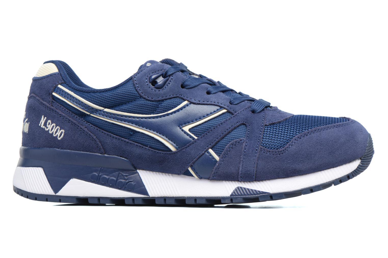 Sneaker Diadora N9000 III blau ansicht von hinten