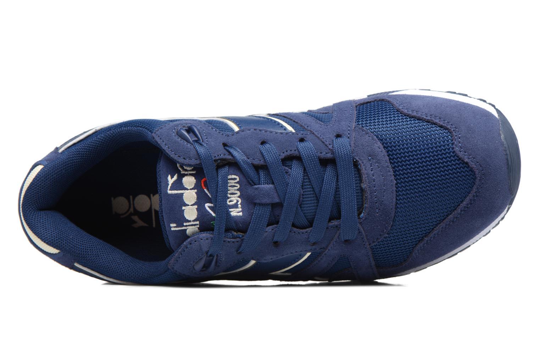 Sneaker Diadora N9000 III blau ansicht von links