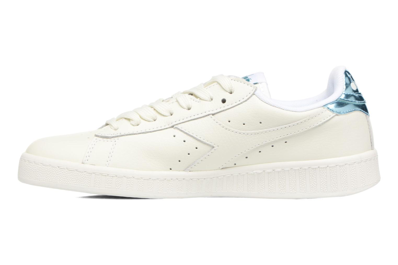 Sneakers Diadora GAME L LOW MIRROR Hvid se forfra
