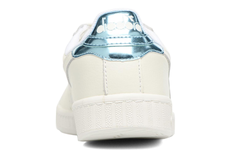 Baskets Diadora GAME L LOW MIRROR Blanc vue droite