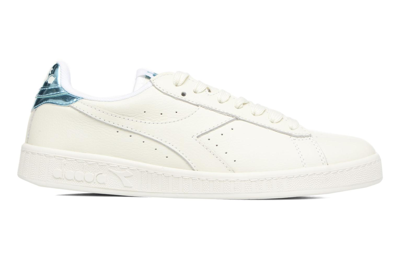 Sneakers Diadora GAME L LOW MIRROR Wit achterkant
