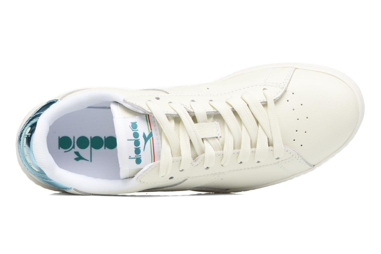 Sneakers Diadora GAME L LOW MIRROR Hvid se fra venstre