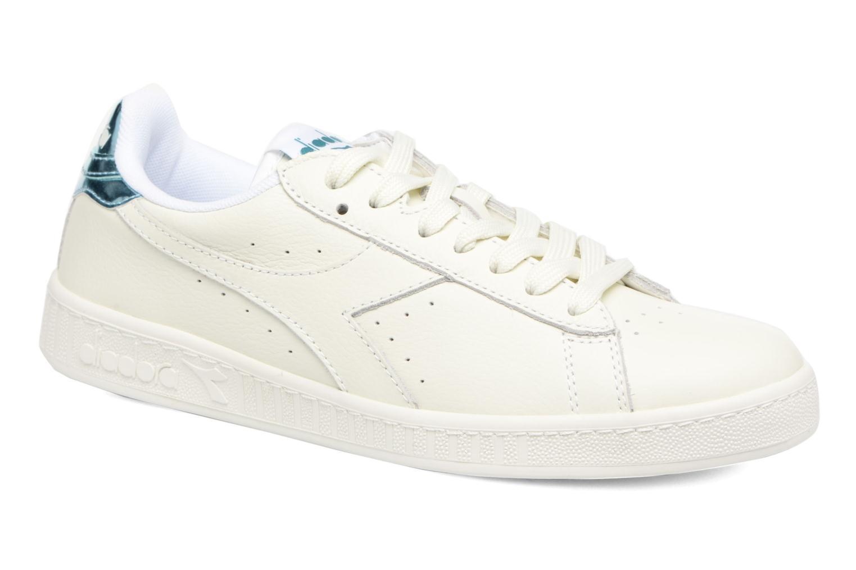 Sneakers Diadora GAME L LOW MIRROR Hvid detaljeret billede af skoene