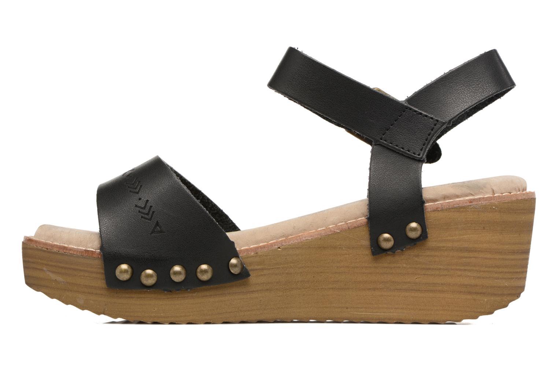 Sandalen Coolway Casidi schwarz ansicht von vorne