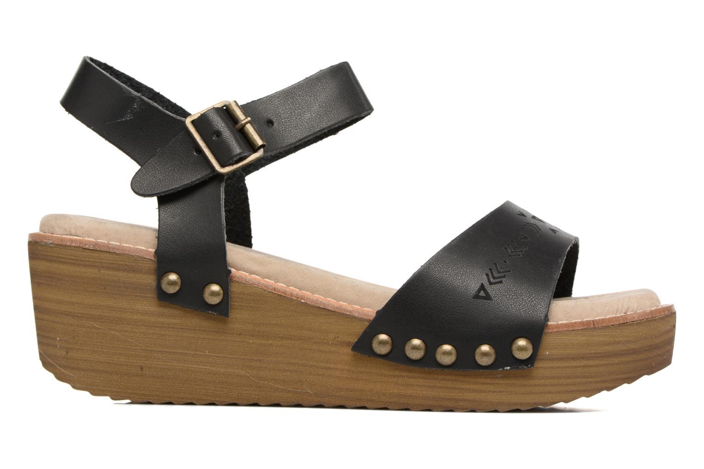 Sandalen Coolway Casidi schwarz ansicht von hinten