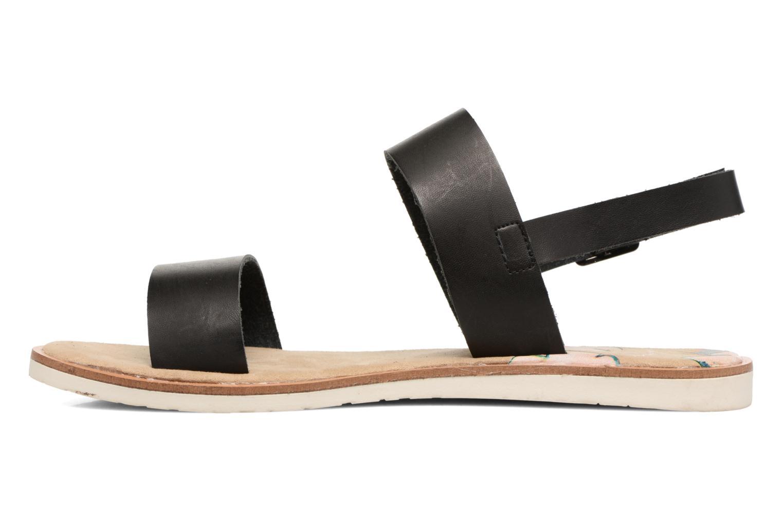 Sandalen Coolway Morel schwarz ansicht von vorne