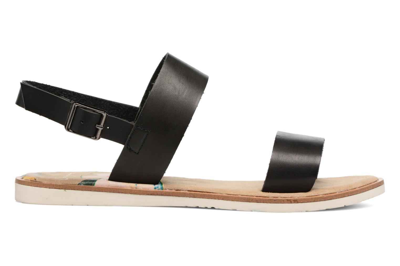 Sandalen Coolway Morel schwarz ansicht von hinten