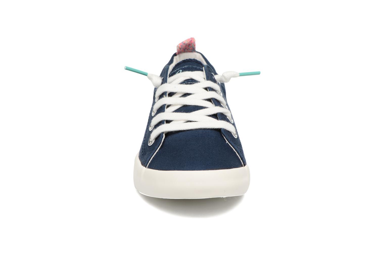 Schnürschuhe Coolway Tuna blau schuhe getragen
