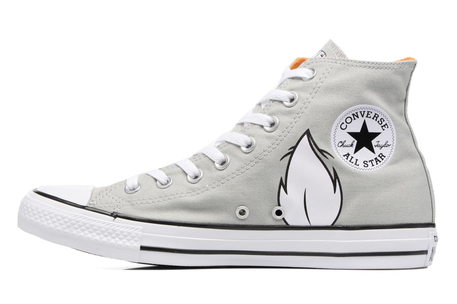 Baskets Converse Chuck Taylor All Star  Looney Tunes Hi Bugs Gris vue face