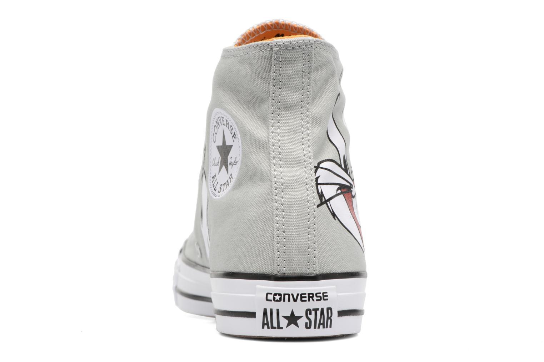 Baskets Converse Chuck Taylor All Star  Looney Tunes Hi Bugs Gris vue droite