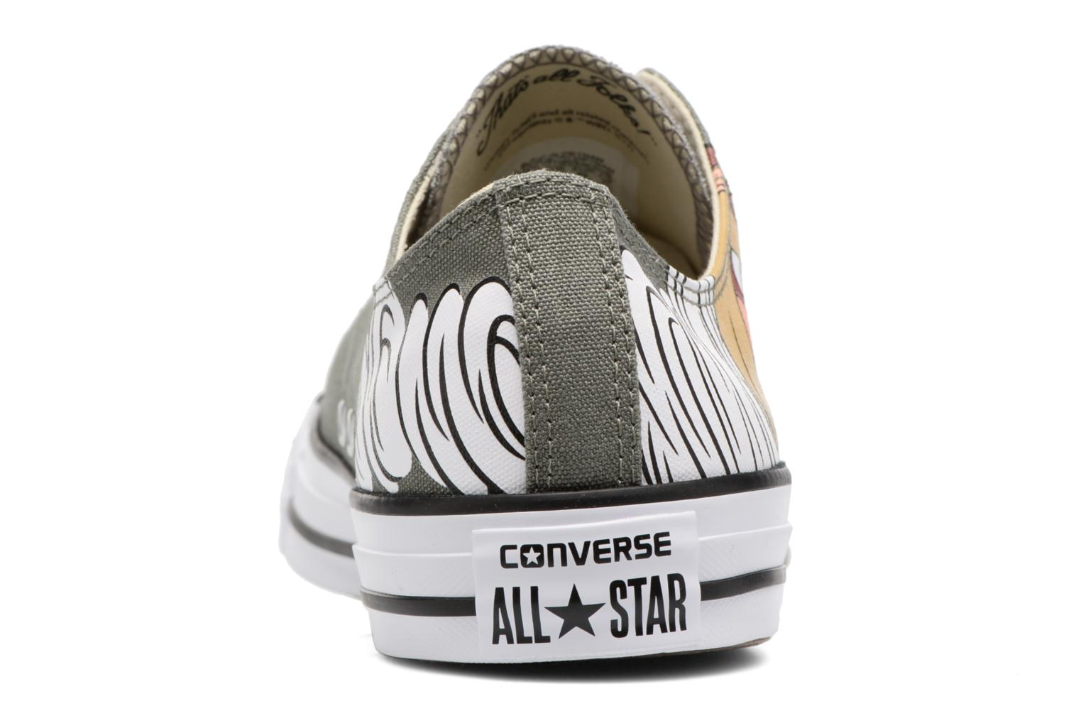 Sneakers Converse Chuck Taylor All Star  Looney Tunes Ox Verde immagine destra