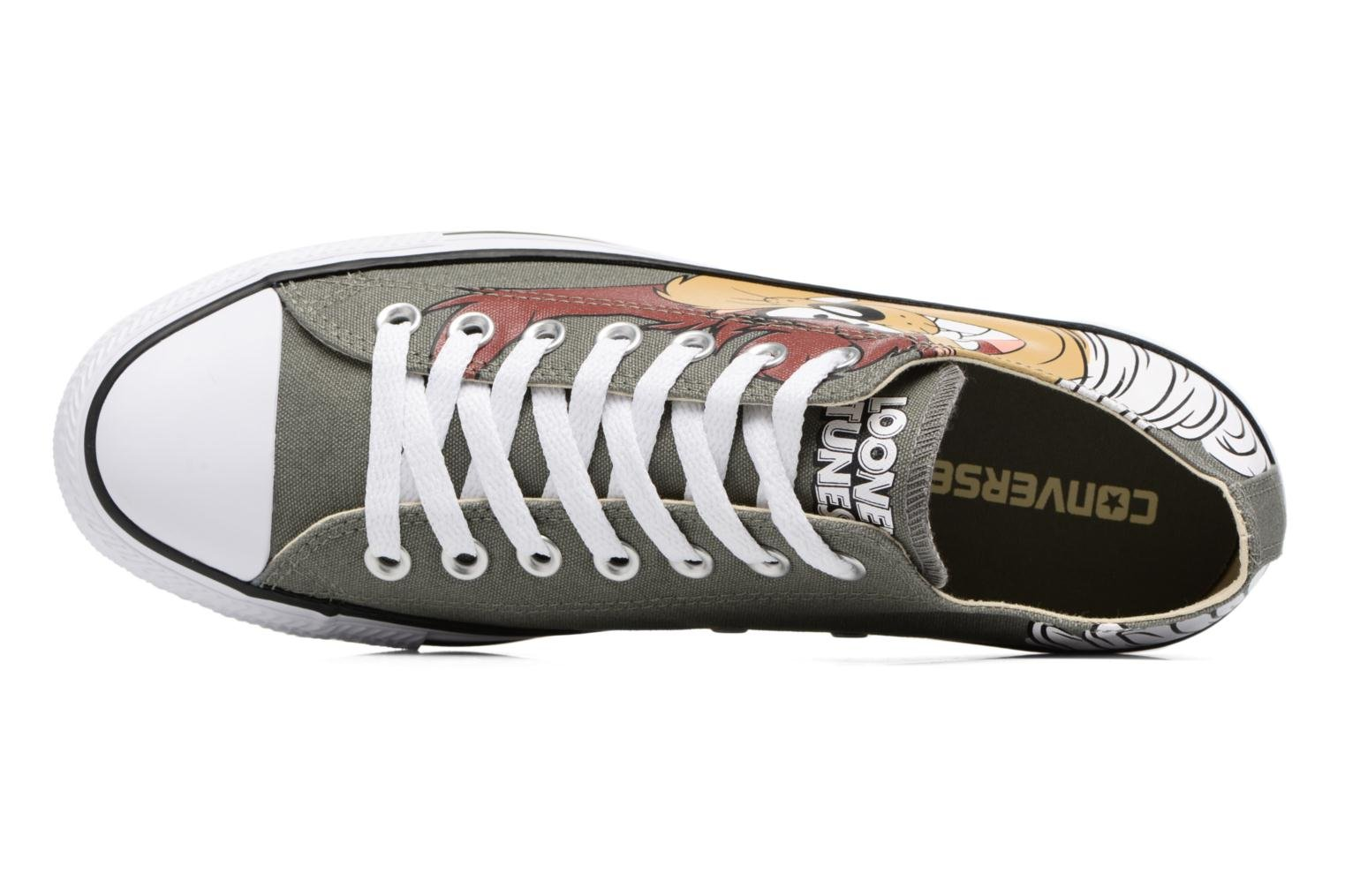 Sneakers Converse Chuck Taylor All Star  Looney Tunes Ox Verde immagine sinistra