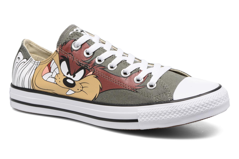 Baskets Converse Chuck Taylor All Star  Looney Tunes Ox Vert vue détail/paire