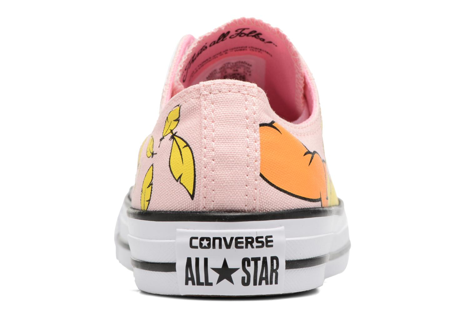 Baskets Converse Chuck Taylor All Star  Looney Tunes Ox W Rose vue droite