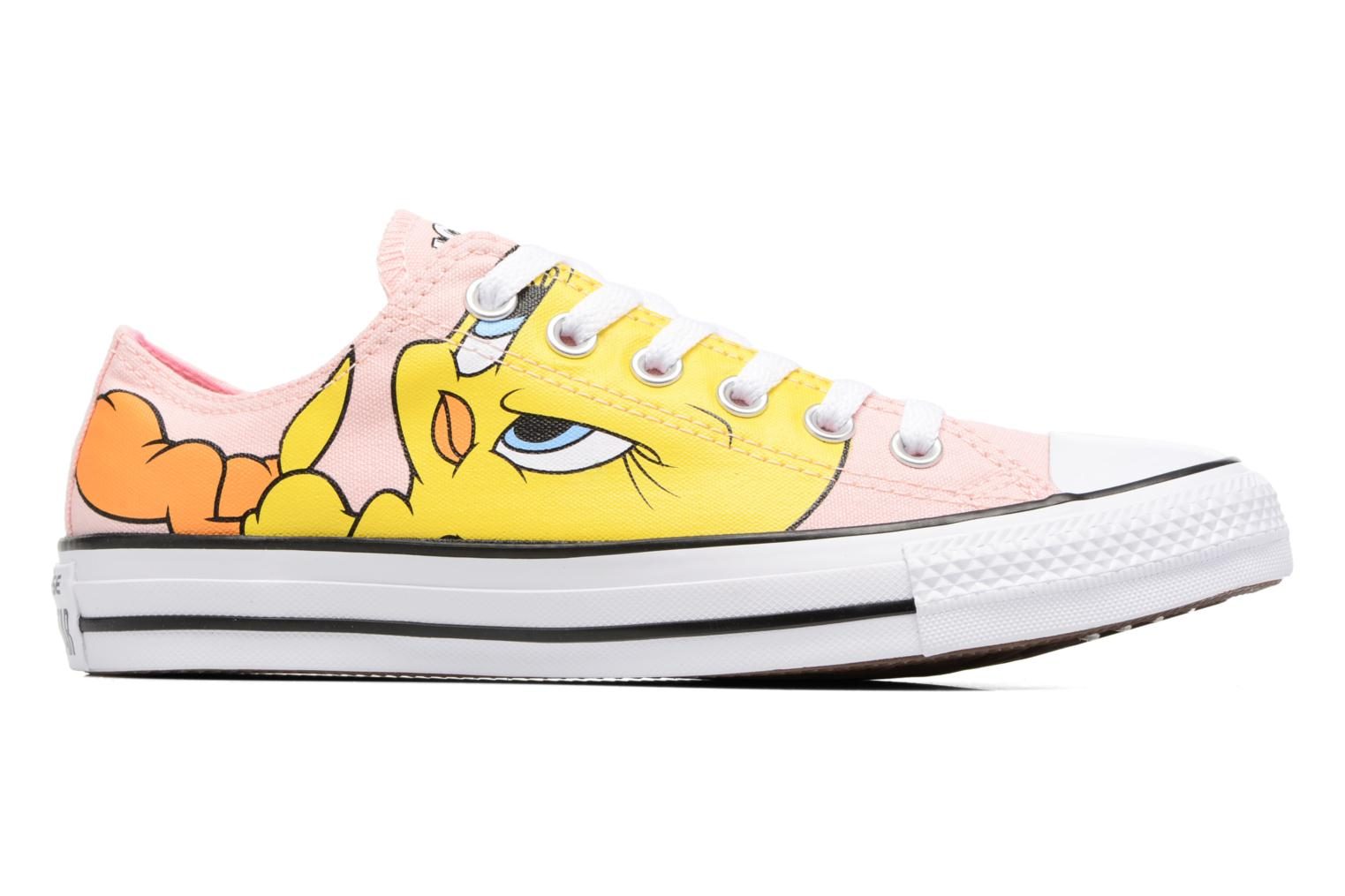 Baskets Converse Chuck Taylor All Star  Looney Tunes Ox W Rose vue derrière