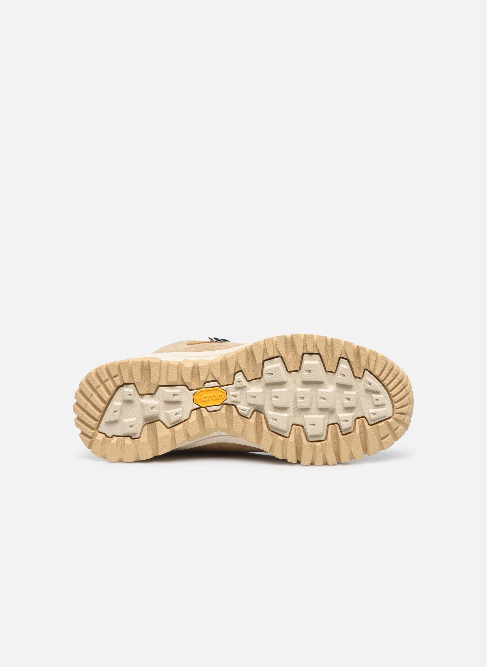 Chaussures de sport Kimberfeel SELLA Beige vue haut