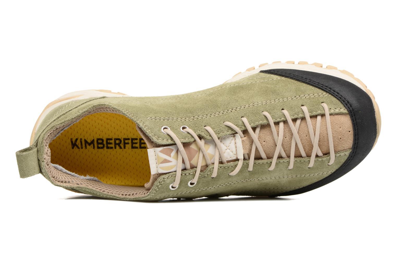 Sportschuhe Kimberfeel LINCOLN grün ansicht von links