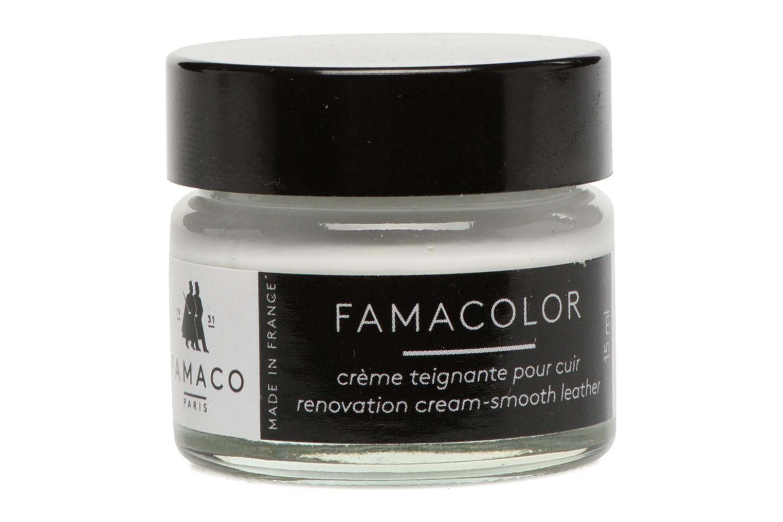 Schuhpflegeprodukte Famaco Teinture solide famacolor 15ml weiß schuhe getragen