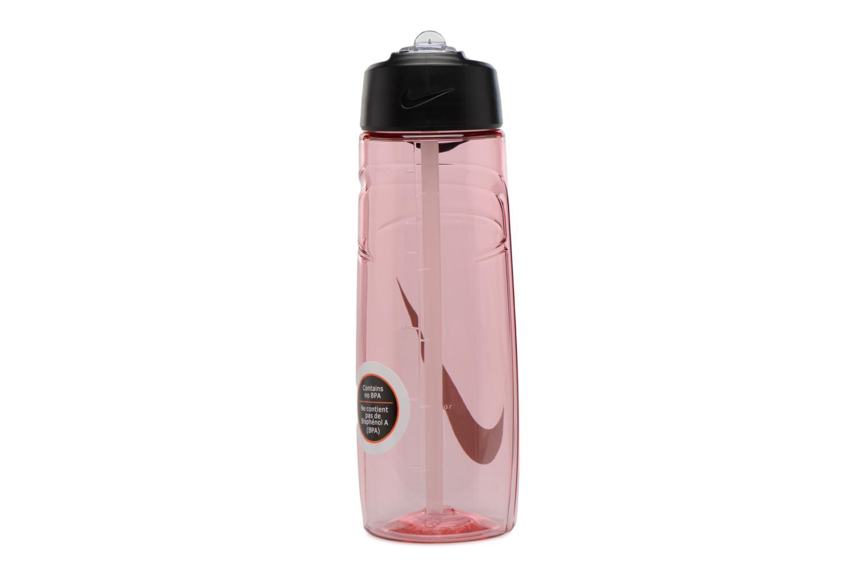 Divers Nike T1 FLOW SWOOSH WATER BOTTLE 24oz Roze voorkant