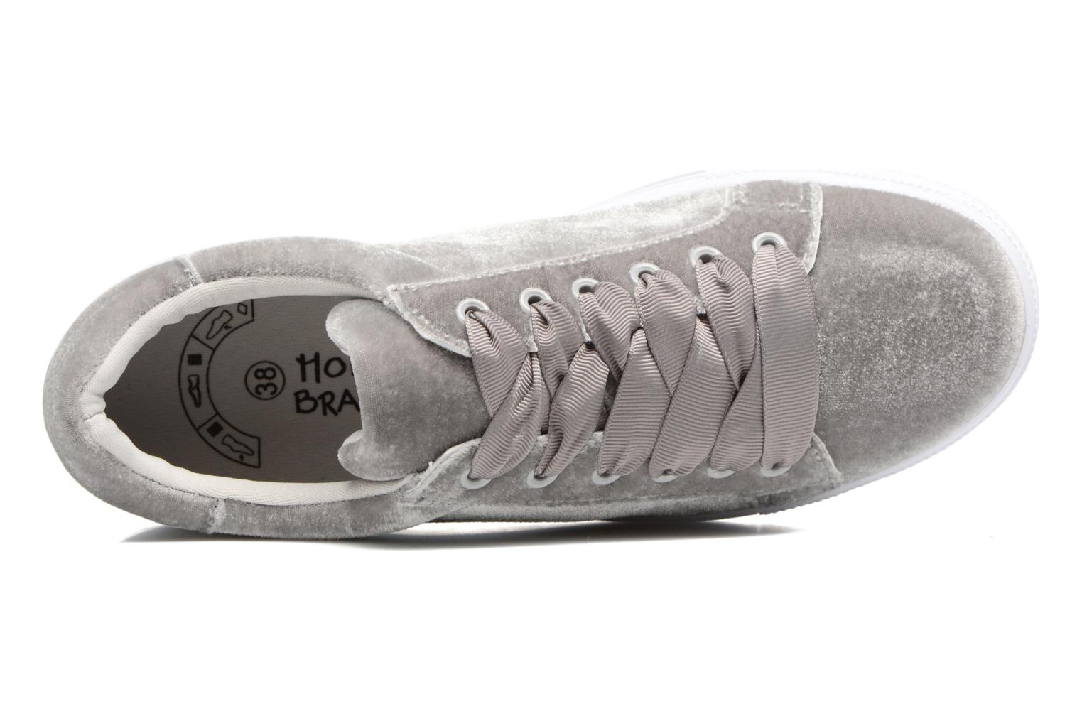 Trainers Molly Bracken Mogrey Grey view from the left