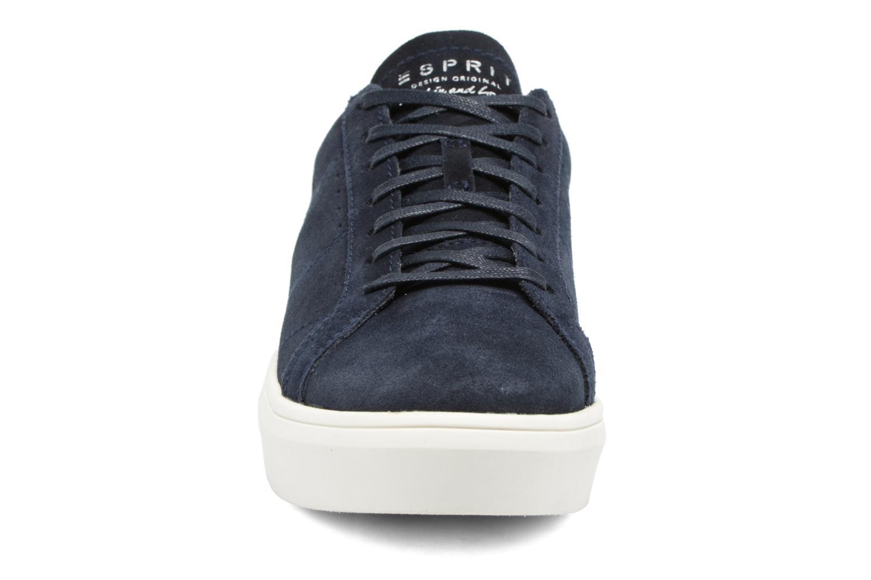 Baskets Esprit Elda Bleu vue portées chaussures