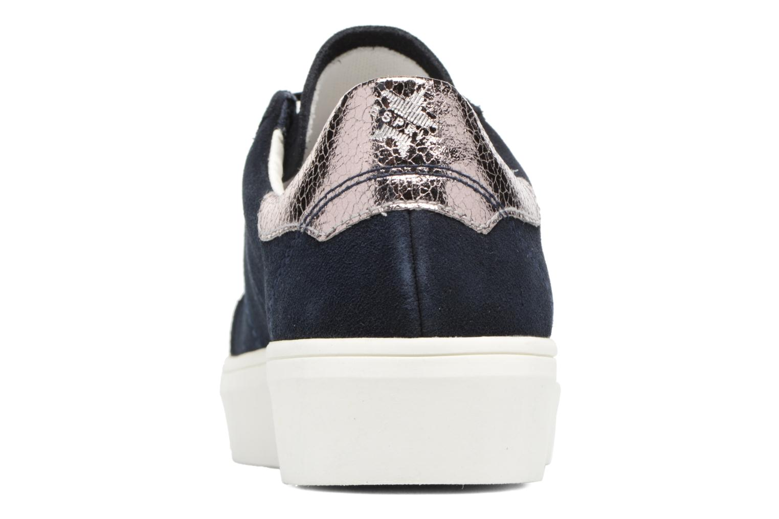 Trainers Esprit Elda Blue view from the right