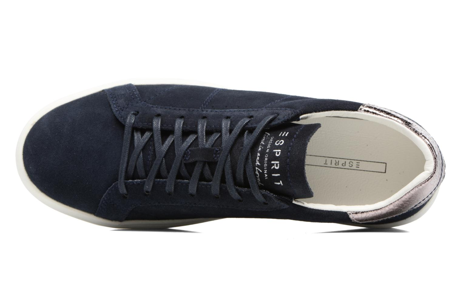 Trainers Esprit Elda Blue view from the left