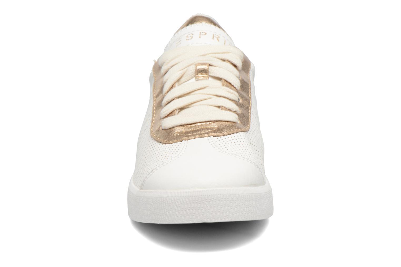Baskets Esprit Gweneth lou Blanc vue portées chaussures