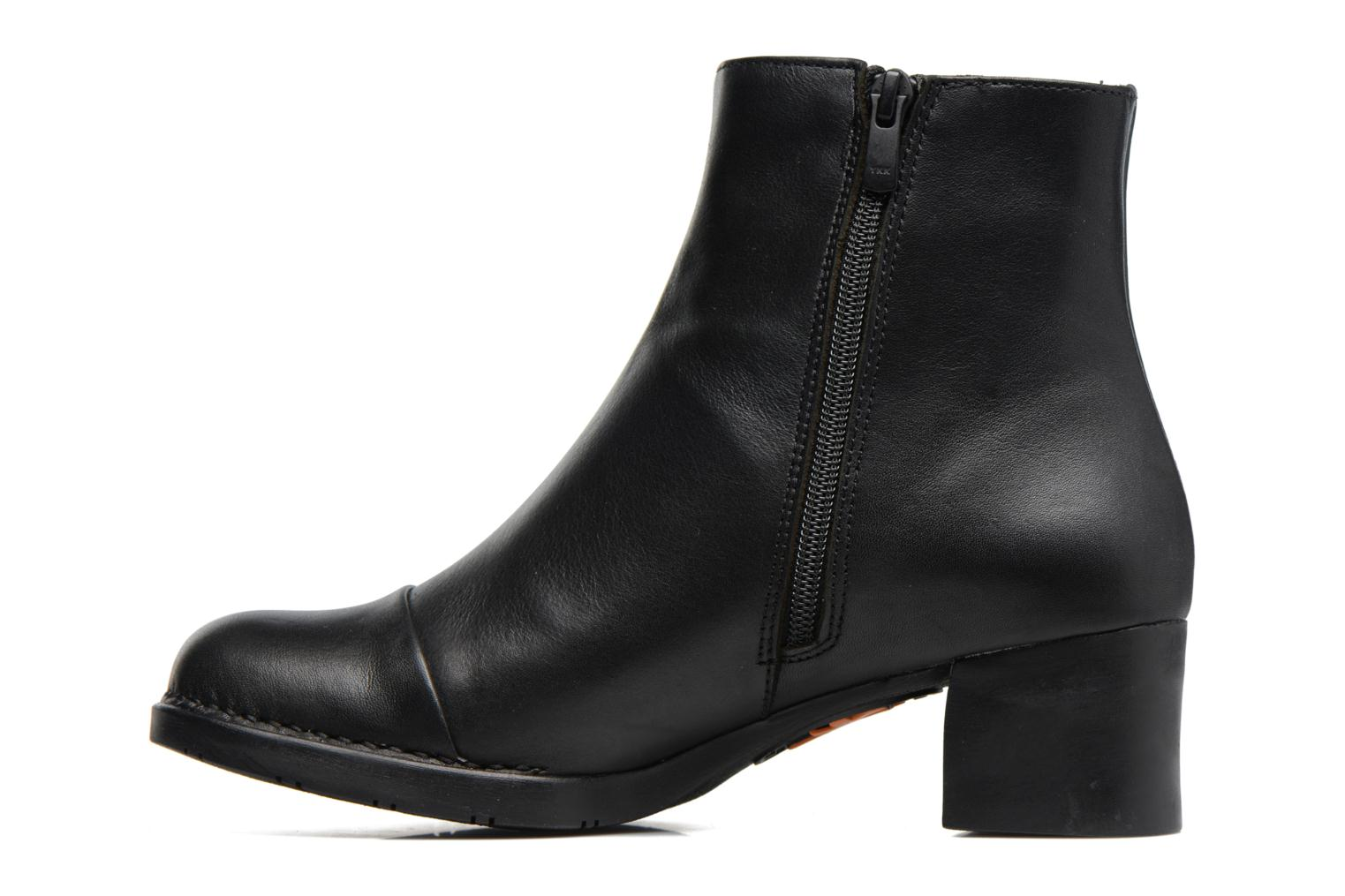 Bottines et boots Art BRISTOL 1200 Noir vue face