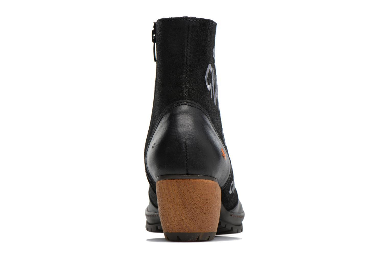 Bottines et boots Art OSLO 1231 Noir vue droite