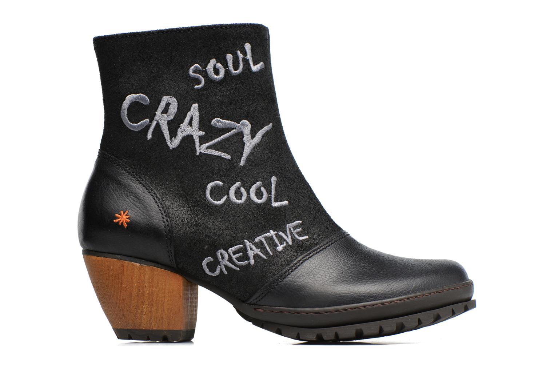Bottines et boots Art OSLO 1231 Noir vue derrière