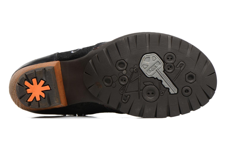 Bottines et boots Art OSLO 1231 Noir vue haut