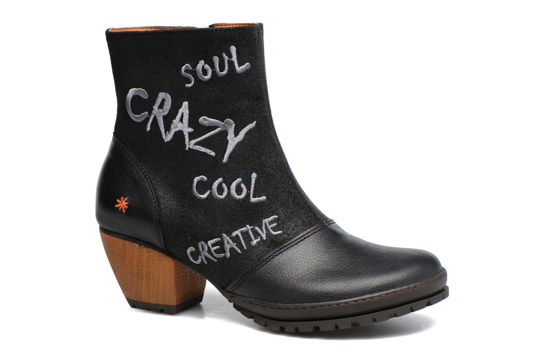 Bottines et boots Art OSLO 1231 Noir vue détail/paire