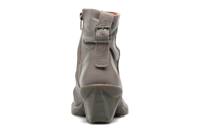 Bottines et boots Art OTEIZA 639 Gris vue droite