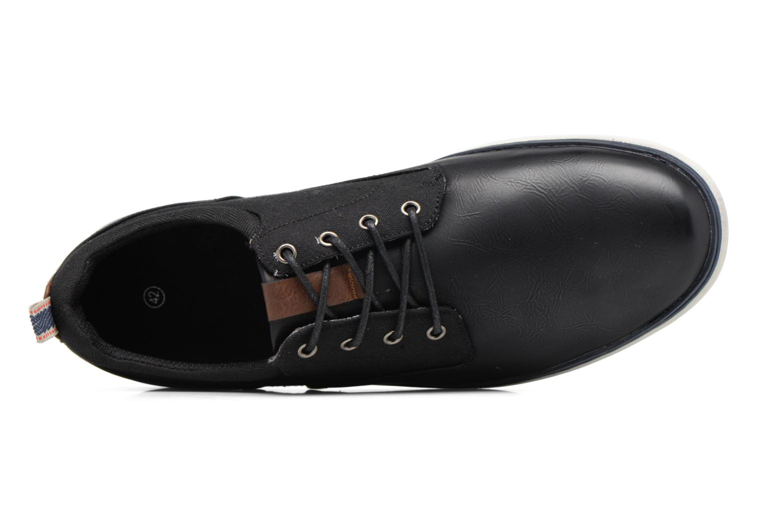 Trainers I Love Shoes SOLAL Black view from the left