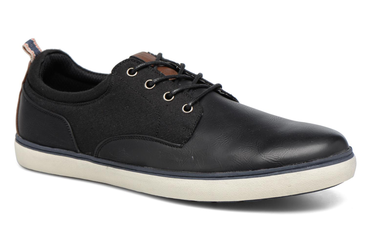 Trainers I Love Shoes SOLAL Black detailed view/ Pair view