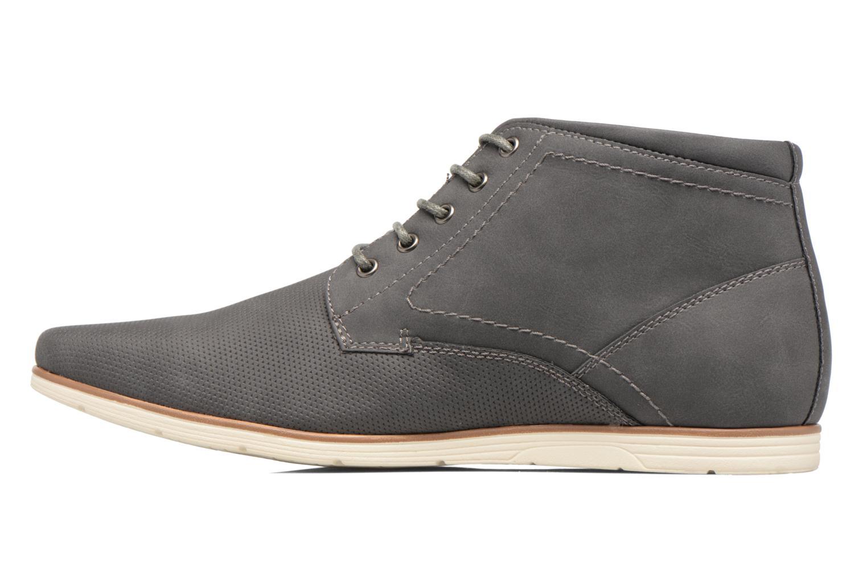 Scarpe con lacci I Love Shoes SIDOINE Grigio immagine frontale