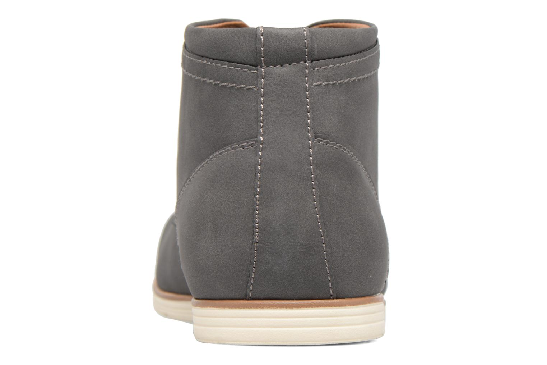 Chaussures à lacets I Love Shoes SIDOINE Gris vue droite