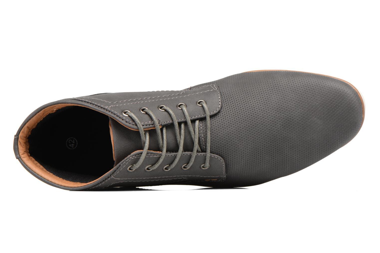 Chaussures à lacets I Love Shoes SIDOINE Gris vue gauche