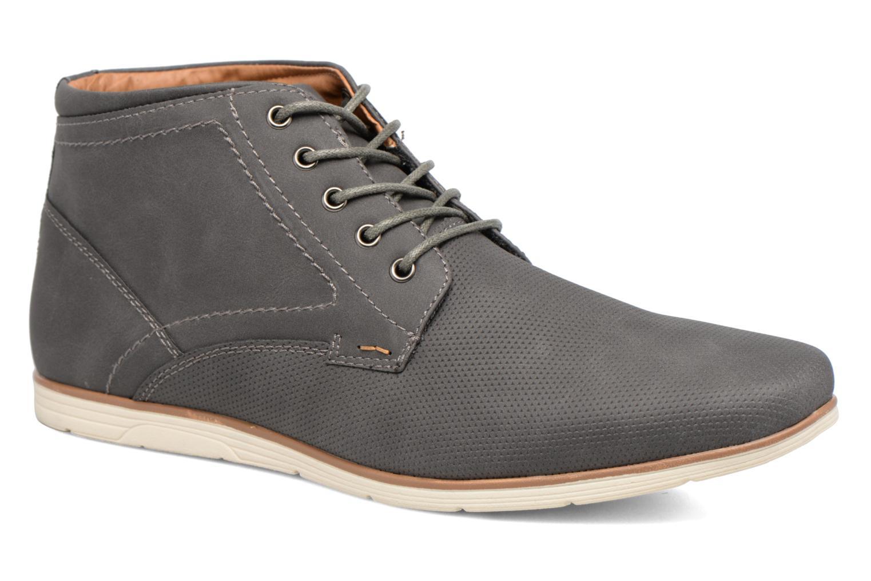 Snøresko I Love Shoes SIDOINE Grå detaljeret billede af skoene