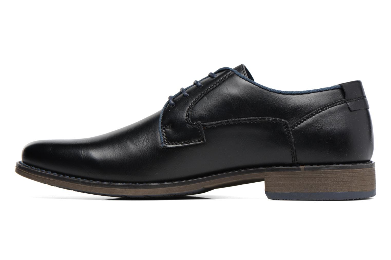 Zapatos con cordones I Love Shoes SIGMUND Negro vista de frente