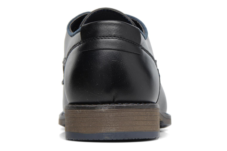 Zapatos con cordones I Love Shoes SIGMUND Negro vista lateral derecha