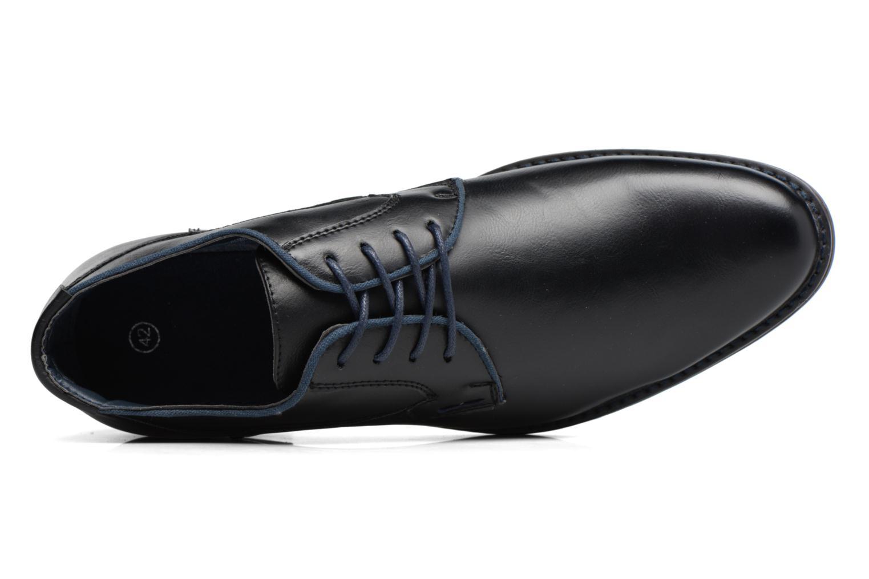 Zapatos con cordones I Love Shoes SIGMUND Negro vista lateral izquierda