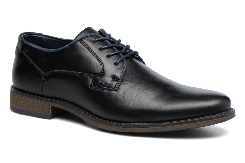 Zapatos con cordones I Love Shoes SIGMUND Negro vista de detalle / par