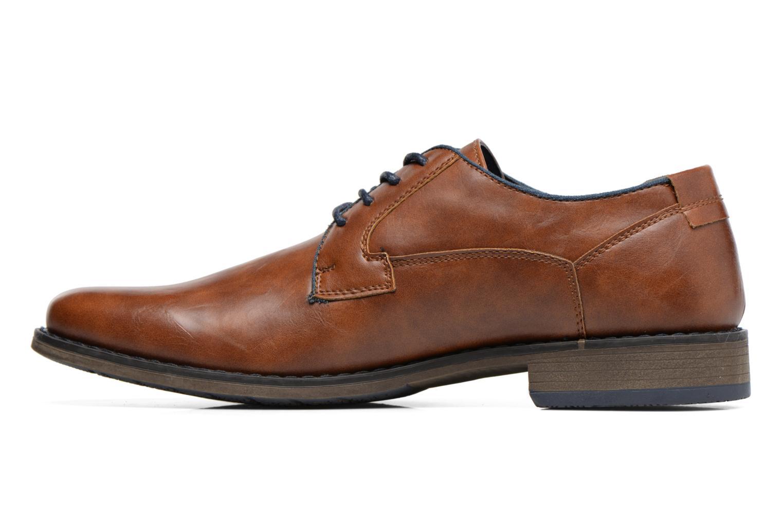 Chaussures à lacets I Love Shoes SIGMUND Marron vue face