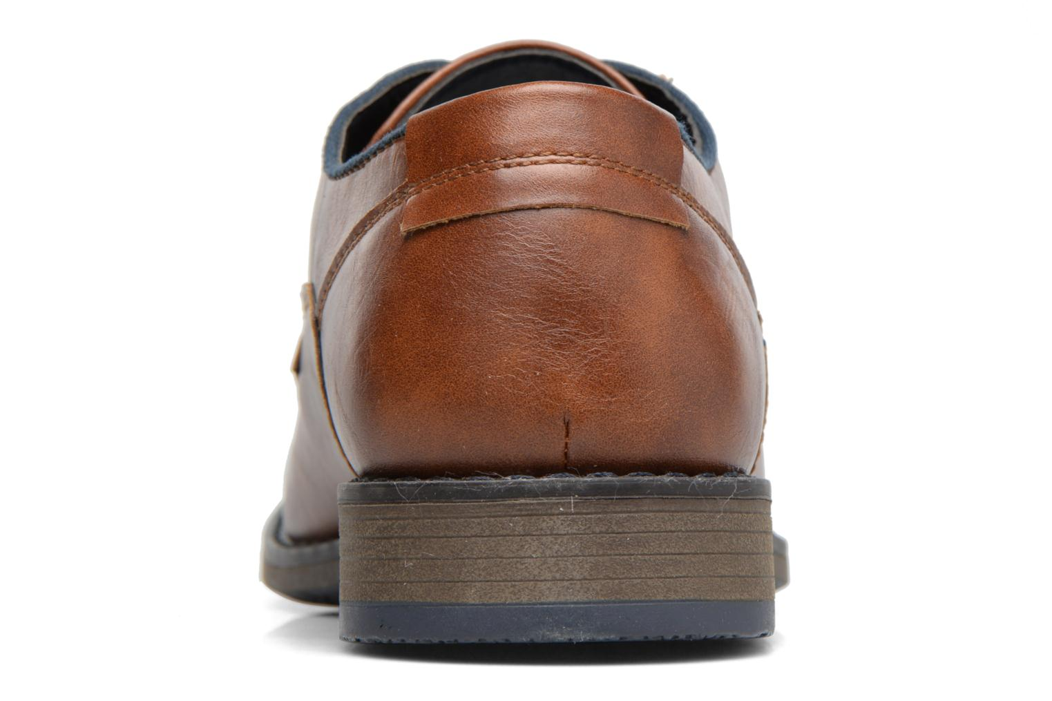 Lace-up shoes I Love Shoes SIGMUND Brown view from the right
