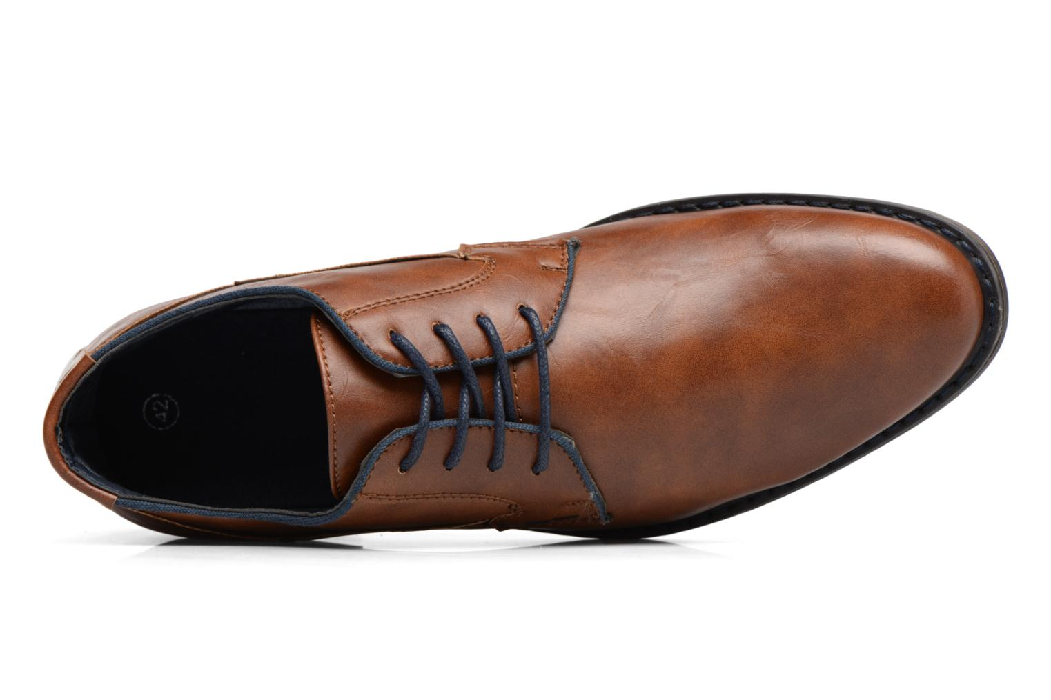 Lace-up shoes I Love Shoes SIGMUND Brown view from the left