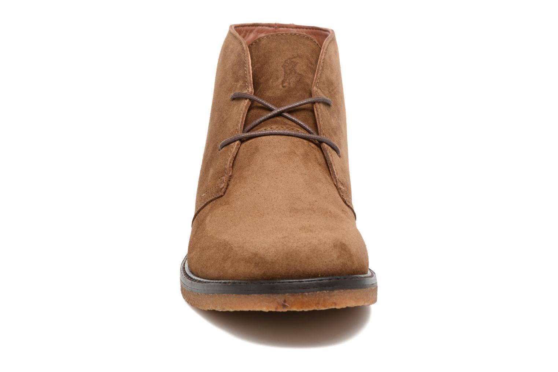 Zapatos con cordones Polo Ralph Lauren Marlow Marrón vista del modelo